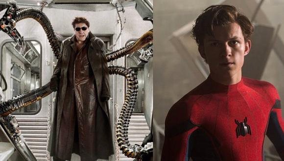 "La última vez que vimos a Alfred Molina como el Doctor Octopus fue en ""Spiderman 2"" (2004). Él reaparecerá junto a Tom Holland en ""Spiderman: No Way Home"". (Fotos: Sony Pictures)"