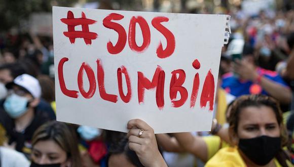 """Organizaciones argentinas se solidarizan con Colombia y plantean realizar un viaje para """"poner el cuerpo"""" en las calles. (Foto de archivo: AFP/ Josep Lago)"""