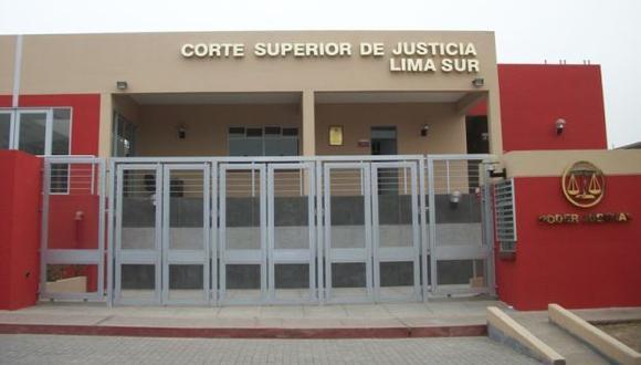 Se producen cambios en la conformación de jueces de la Corte de Lima Sur. (FOTO: CSJ Lima Sur)