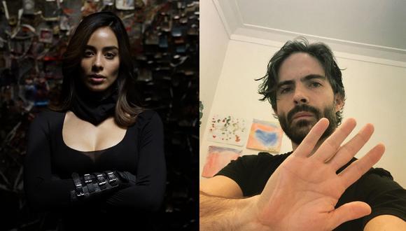 """""""La bella y las bestias"""" reúne a Esmeralda Pimentel (""""Enamorándome de Ramón"""") y Osvaldo Benavides (""""María la del barrio""""). Fotos: Difusión/ Instagram."""
