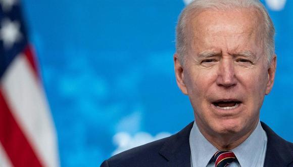 Joe Biden admite que Estados Unidos no está en condiciones ahora de mandar vacunas contra el coronavirus a otros países. (EFE/EPA/Sarah Silbiger).