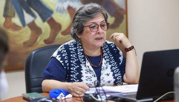 Sonia Guillén asumió el Ministerio de Cultura en diciembre del 2019 tras la salida de Francisco Petrozzi. (Foto: Ministerio de Cultura)