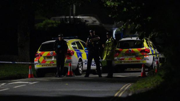 Highways around Keyham were closed after Thursday's shooting.  (AVERAGE PA).
