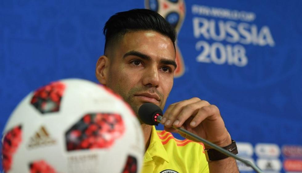"""""""Soy un hombre que sueña mucho, pero soy consciente de que hay que ir paso a paso"""", dijo Falcao. (AFP)"""