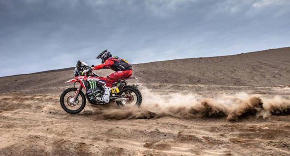 Brabec fue noveno en el Dakar 2016. Su mejor ubicación. (Fotos: Facebook)