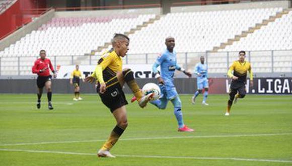 Sandro Rengifo tratará de convencer a Gareca que podría ser útil en las Eliminatorias. (Foto: Liga 1)