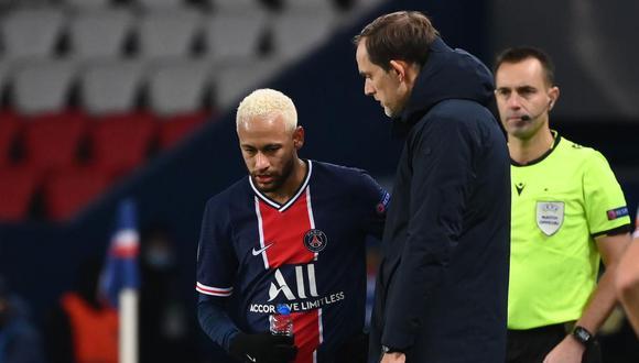 La reacción de Thomas Tuchel ante la posibilidad de tener a Lionel Messi y Neymar en PSG. (Foto: AFP)