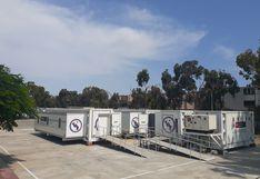 Inician instalación de hospitales móviles en El Agustino, Comas y Cañete para atender pacientes con COVID-19