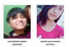 #AyúdanosAEncontrarlos: las familias de Marian, Rocío y Geremy los están buscando