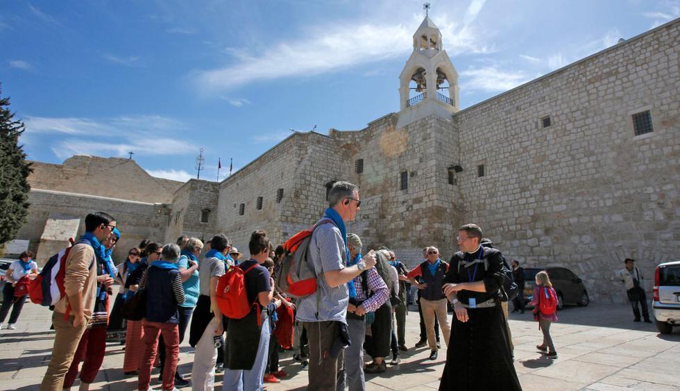 Según un periodista de la AFP, la basílica estaba abierta el jueves por la mañana. (AFP).