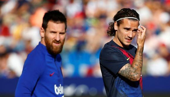 Antoine Griezmann tiene contrato con Barcelona hasta mediados del 2024.
