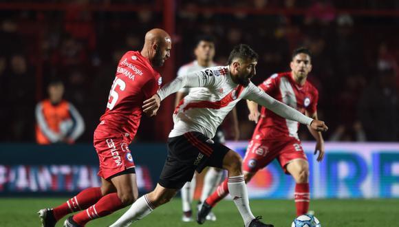 River Plate enfrentó a Argentinos Juniors en la primera jornada de la Superliga Argentina   Foto: River Plate