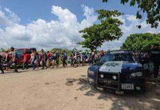 Guatemala retornó a 5.400 hondureños que iban en caravana de migrantes a EE.UU.