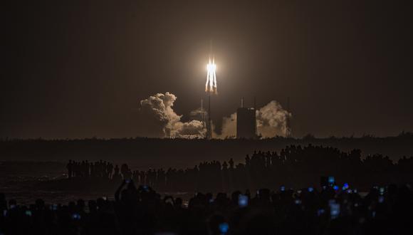Es la primera misión de su tipo en décadas.  (Foto: STR / AFP)