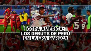 Copa América 2021: los debuts de la selección peruana con Gareca en este torneo