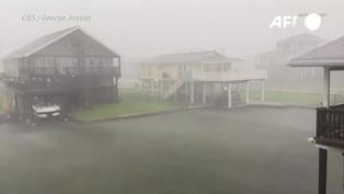Tormenta Nicholas se convierte en huracán en su ruta a Houston