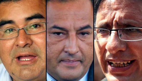 Tres presidentes regionales con orden de prisión en 21 días