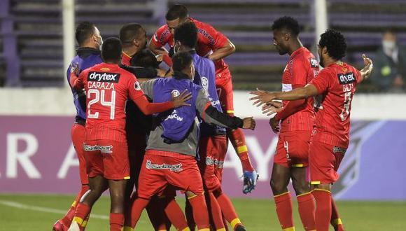 Sport Huancayo chocará con Coquimbo Unido tras eliminar a Liverpool. (Foto: AFP)