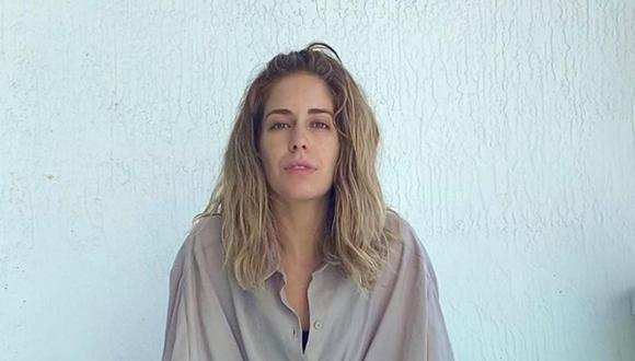 Carmen Aub se muestra luego de su operación y quitarse los implantes de seno (Foto: Instagram)