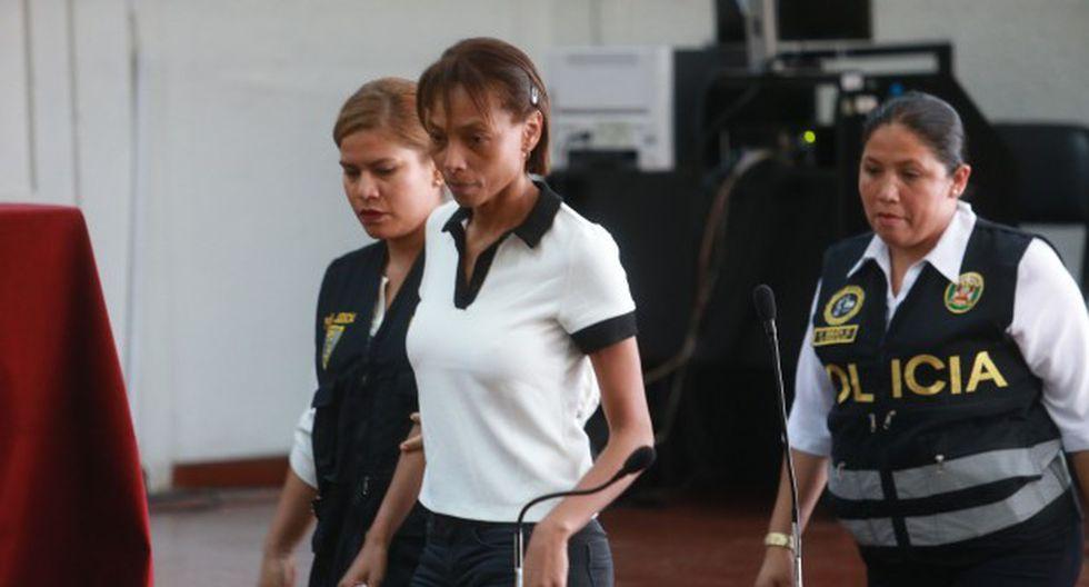 Jessica Tejada. Al igual que para su pareja, Jorge Cuba, la prisión preventiva de la ex voleibolista fue ampliada en septiembre del 2018. (Foto: Archivo El Comercio)