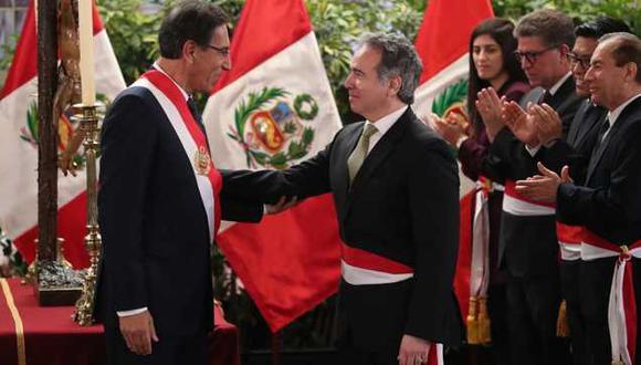 Petrozzi asumió el cargo el pasado 3 de octubre. (Foto Prensa Palacio)