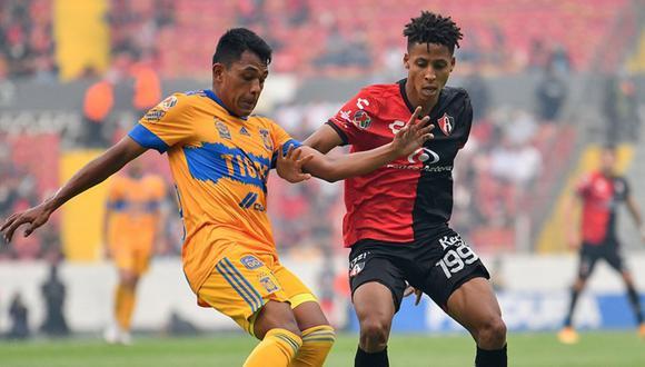 Tigres enfrentó a Atlas por la Liga MX