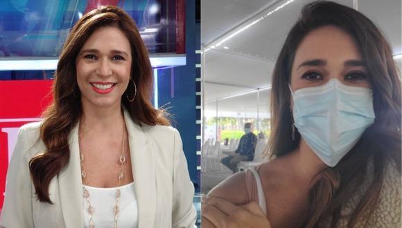 Verónica Linares celebró que recibió la vacuna contra la COVID-19. (Foto: @veronicalinares)