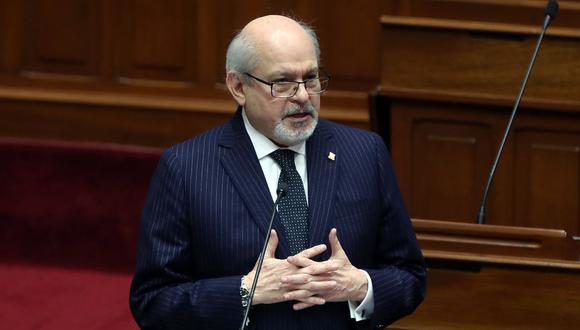 Pedro Cateriano obtuvo 37 de 130 votos del Parlamento. No obtuvo el voto de confianza. Una de las críticas de las bancadas al ex primer ministro fue su posición a favor de la minería. (Foto: PCM)