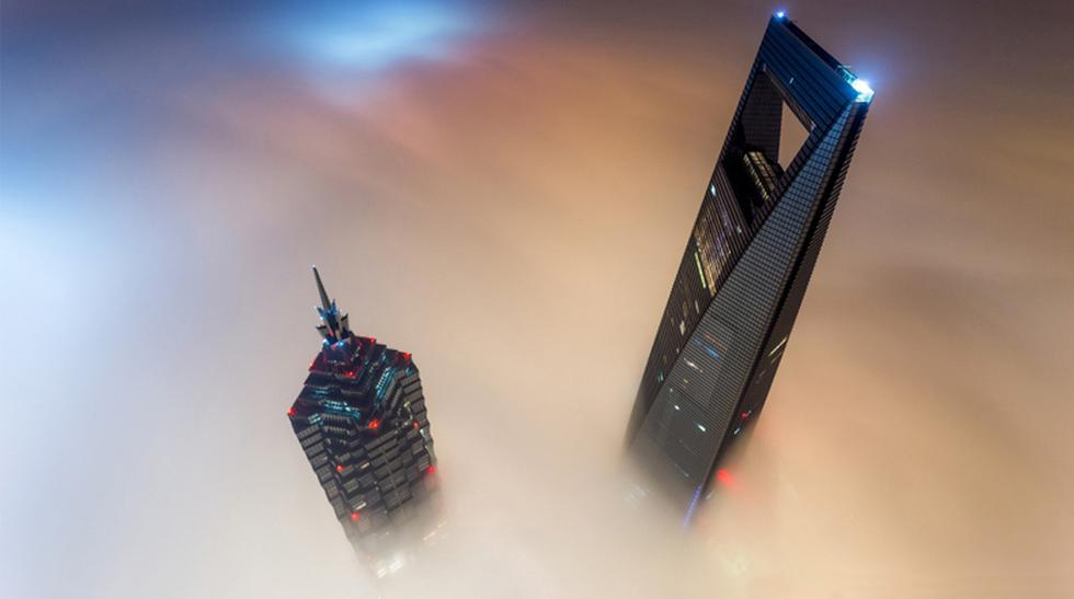 Toman increíbles fotos en la segunda torre más alta del mundo - 1