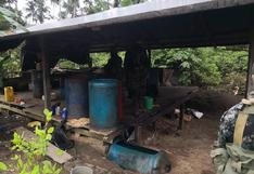 Destruyen seis laboratorios de elaboración de droga en la región Loreto