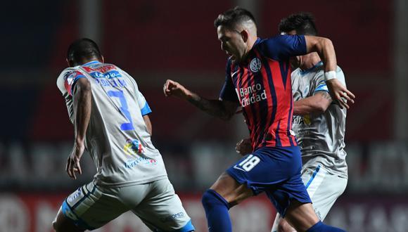 San Lorenzo igualó 1-1 frente a 12 de Octubre por la Copa Sudamericana 2021