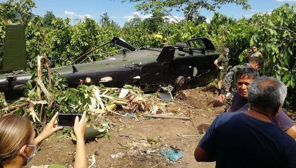 Accidente fue registrado por unos vecinos (Foto: Ejército Peruano)