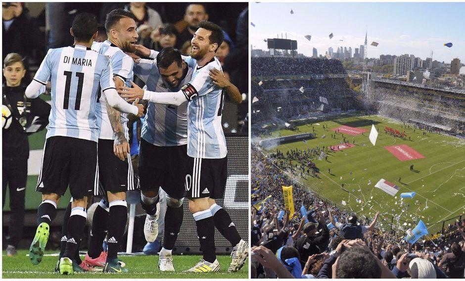 La selección albiceleste jugaría su partido número 30 en La Bombonera, solo siete fueron por Eliminatorias. Frente a la selección peruana ya disputó tres encuentros. (Foto: EFE/AP)