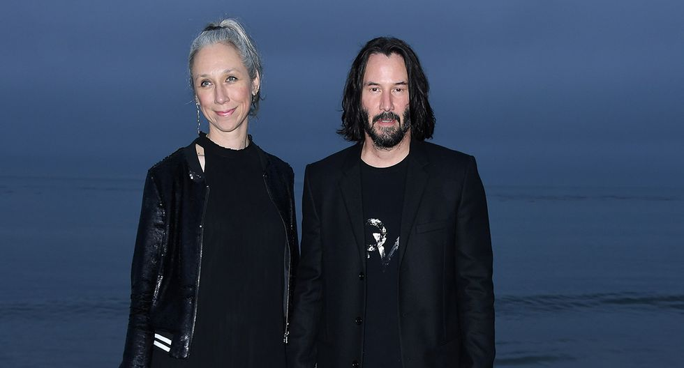 Una amiga de Grant, la actriz Jennifer Tilly, habló sobre la pareja Keanu Reeves y Alexandra Grant. (AFP)