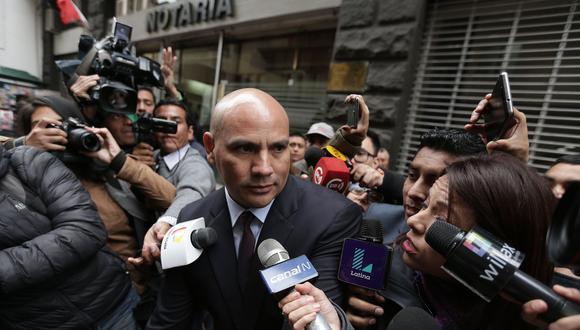 El ex secretario de Fuerza Popular Joaquín Ramírez también es investigado por la fiscalía por el presunto delito de lavado de activos. (Foto: Archivo El Comercio)