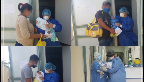 En el mismo hospital donde fueron atendidos los recién nacidos (Hospital Santa Rosa), cinco adultos lograron recuperarse del COVID-19.