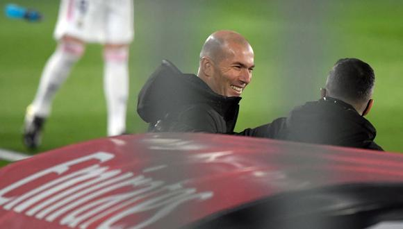 Zinedine Zidane podrá dirigir en el Real Madrid vs. Osasuna. (Foto: AFP)