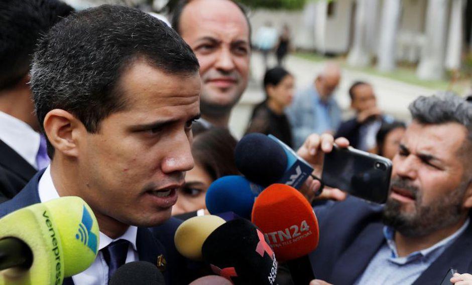 """Juan Guaidó no precisó si él mismo asistirá a la reunión con el chavismo ni cuándo será, pero reiteró que usarán estas conversaciones para intentar avanzar en sus objetivos, que incluyen celebrar elecciones """"libres"""" en Venezuela. (Reuters)"""