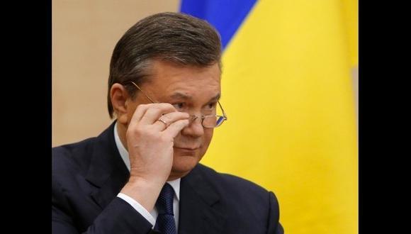 Yanukovich estaría hospitalizado grave en Rusia