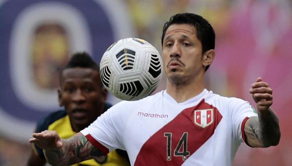 Gianluca Lapadula salió como titular ante Ecuador por las Eliminatorias Qatar 2022. (Foto: AFP)
