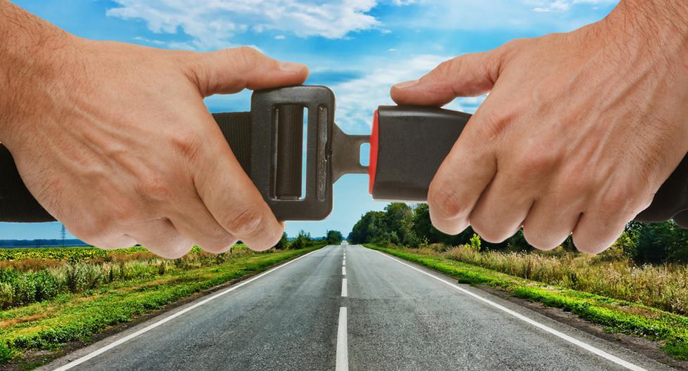 1. Es la ley: no llevar el cinturón abrochado es considerada una falta grave que se atribuye al conductor del vehículo y es sancionado con una multa de 336 soles. (Foto: Shutterstock)