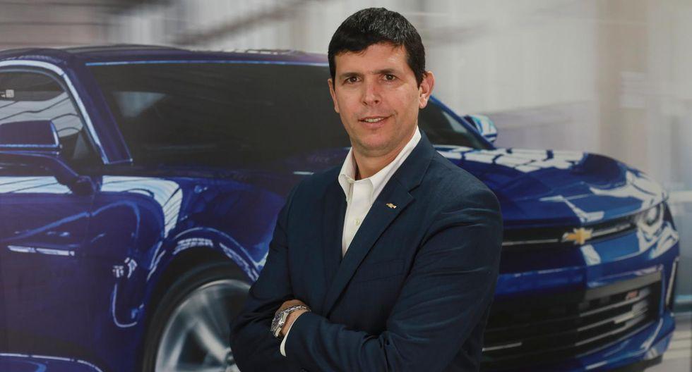"""""""GM crece a un ritmo de 15% y 20% en Perú"""", dice su presidente para Sudamérica Oeste, Ernesto Ortiz."""