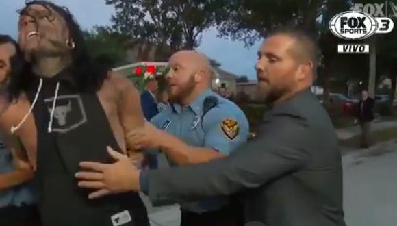 Jeff Hardy fue arrestado por accidente de autos al inicio de la trasmisión de SmackDown