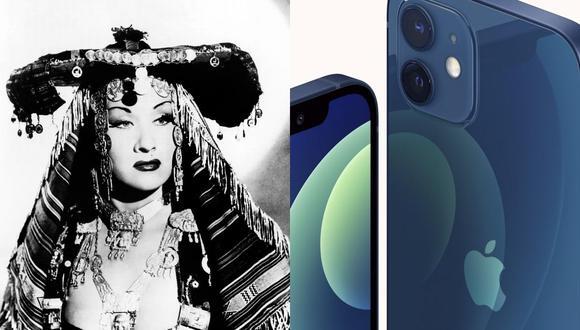 Apple recurrió a la imponente voz de Yma Súmac, la soprano peruana reconocida mundialmente en la década de los cincuenta, para publicitar el nuevo iPhone 12. (Foto AFP).
