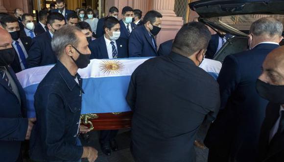 Diego Maradona falleció el 25 de noviembre pasado, a los 60 años. (Foto: AFP)