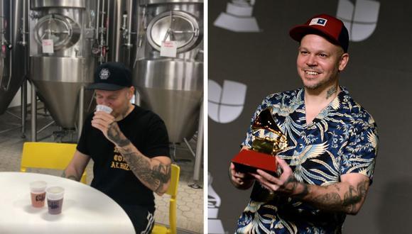 El músico René Pérez publicó un video donde anunció que pronto su cerveza saldrá al mercado. (AFP / @residente).