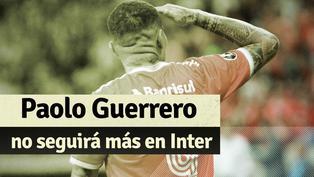 Paolo Guerrero no es más jugador de Inter tras llegar a un acuerdo