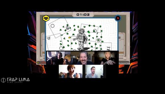 Los participantes se unen a través de su aplicación de comunicación favorita y todos se conectan a la plataforma del juego. (Foto: Difusión)