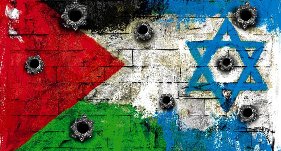 La fiscal de la Corte Penal Internacional abre investigación por presuntos crímenes en territorios palestinos por parte de Israel. (Ilustración: Giovanni Tazza / El Comercio)