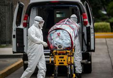 Una de cada diez personas falleció de COVID-19 fuera de un establecimiento de salud